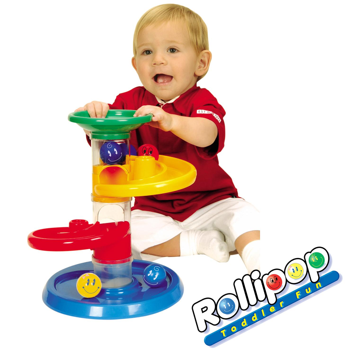 Rollipop Baby Toddler Roller Ball Drop Track Marble Run Activity