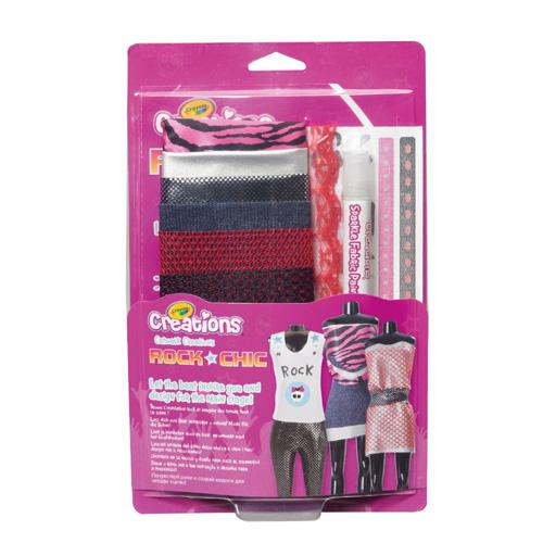 Crayola Catwalk Creations Rock Chic Fashion Designer Design Toy Set Ebay