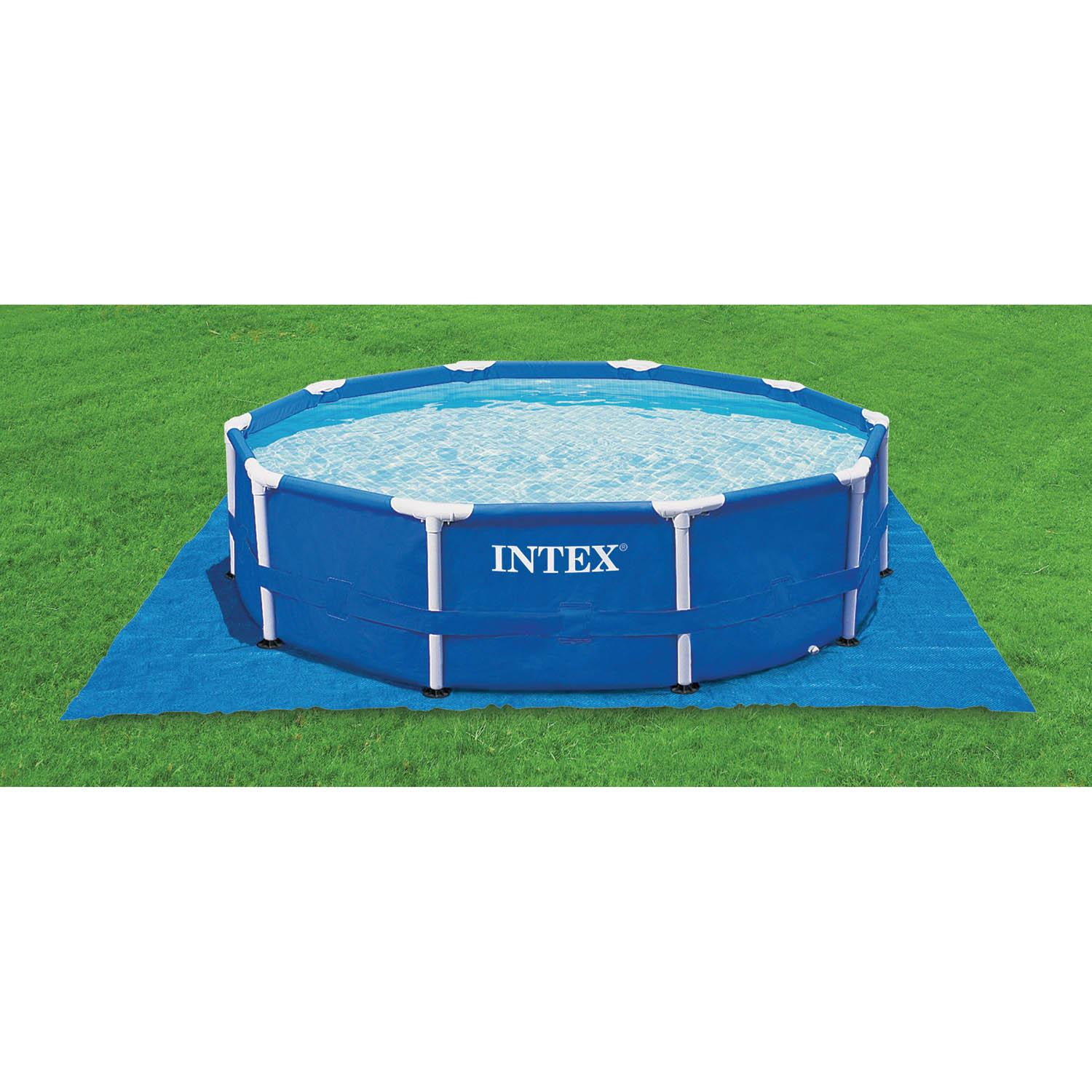 Intex 8 10 12 15 Ft Swimming Paddling Pool Ground Cloth