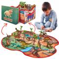 Prehistoric World Dinosaur Storage Box Playset
