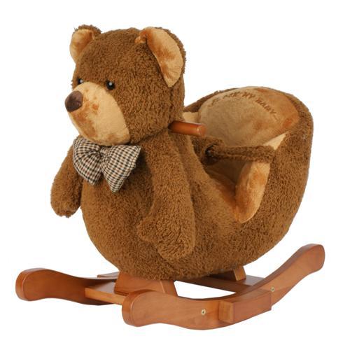 New Baby Toddler Rocker Rocking Animal Bear Chair Soft