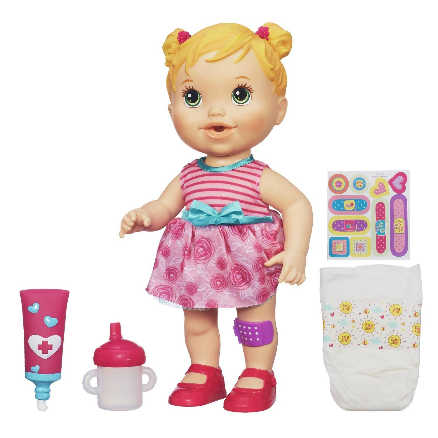 Baby Alive Baby Gets A Boo Boo Doll Blonde Ebay