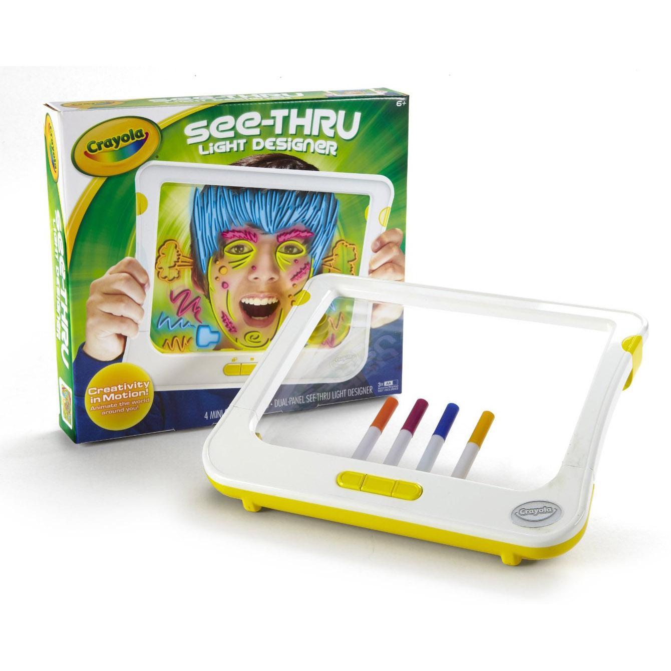 Crayola See Thru Light Designer Uk