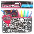 Monster High Colour In Velvet Pencil Case