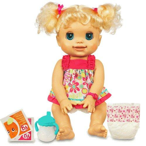 Baby Alive My Real Baby Girl Doll Talking Amp Drink And Wet