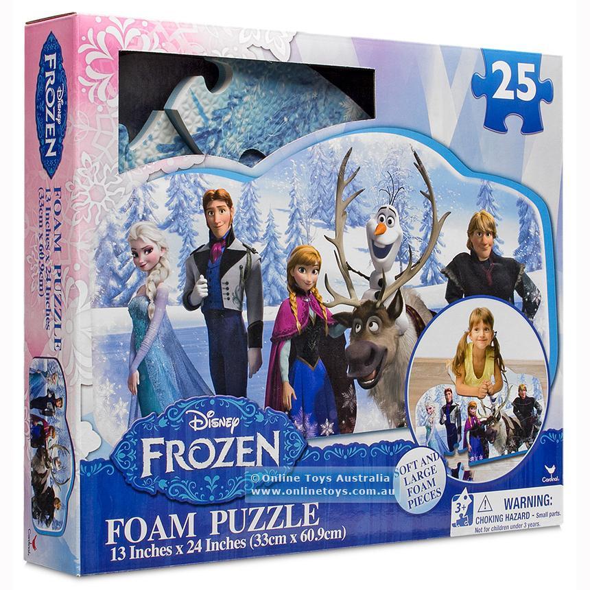 Frozen Childrens Kids 25 Piece Large Foam Jigsaw Floor