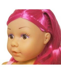 Doll Head Hair Styling on Dolls World Pink Hair Ashley Styling Headwholesale Toys From The Toy