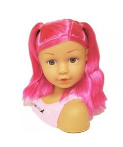 Doll Head Hair Styling on Dolls World Pink Hair Ashley Styling Head   Dolls   Accessories