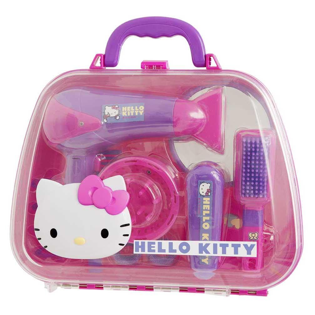 Hello Kitty Toys Set : Hello kitty girls hair care bag case play set pretend