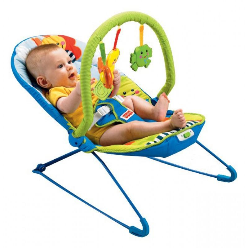 Fisher Price Sooth 39 N Play Vibrating Soother Baby Bouncer