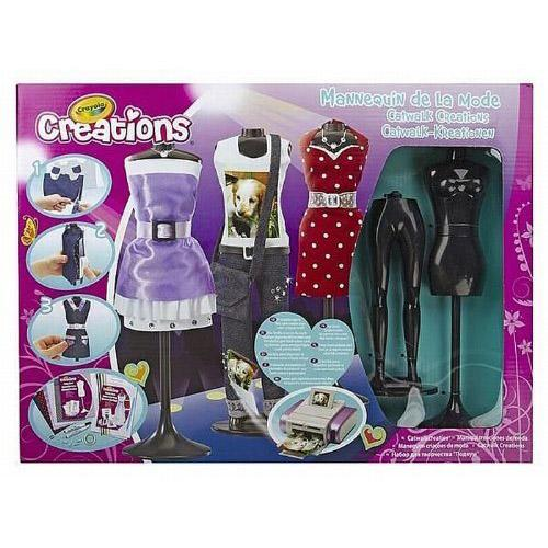 Crayola Catwalk Creations Girls Fashion Design Studio Designer Craft Kit Set Toy Ebay