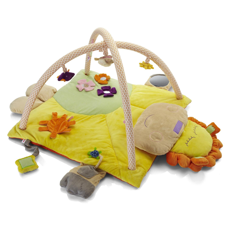 new moomba lion friends luxury baby activity floor play. Black Bedroom Furniture Sets. Home Design Ideas