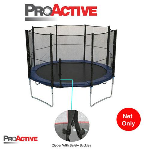 ProActive 12/ft Foot Trampoline Safety Net Enclosure