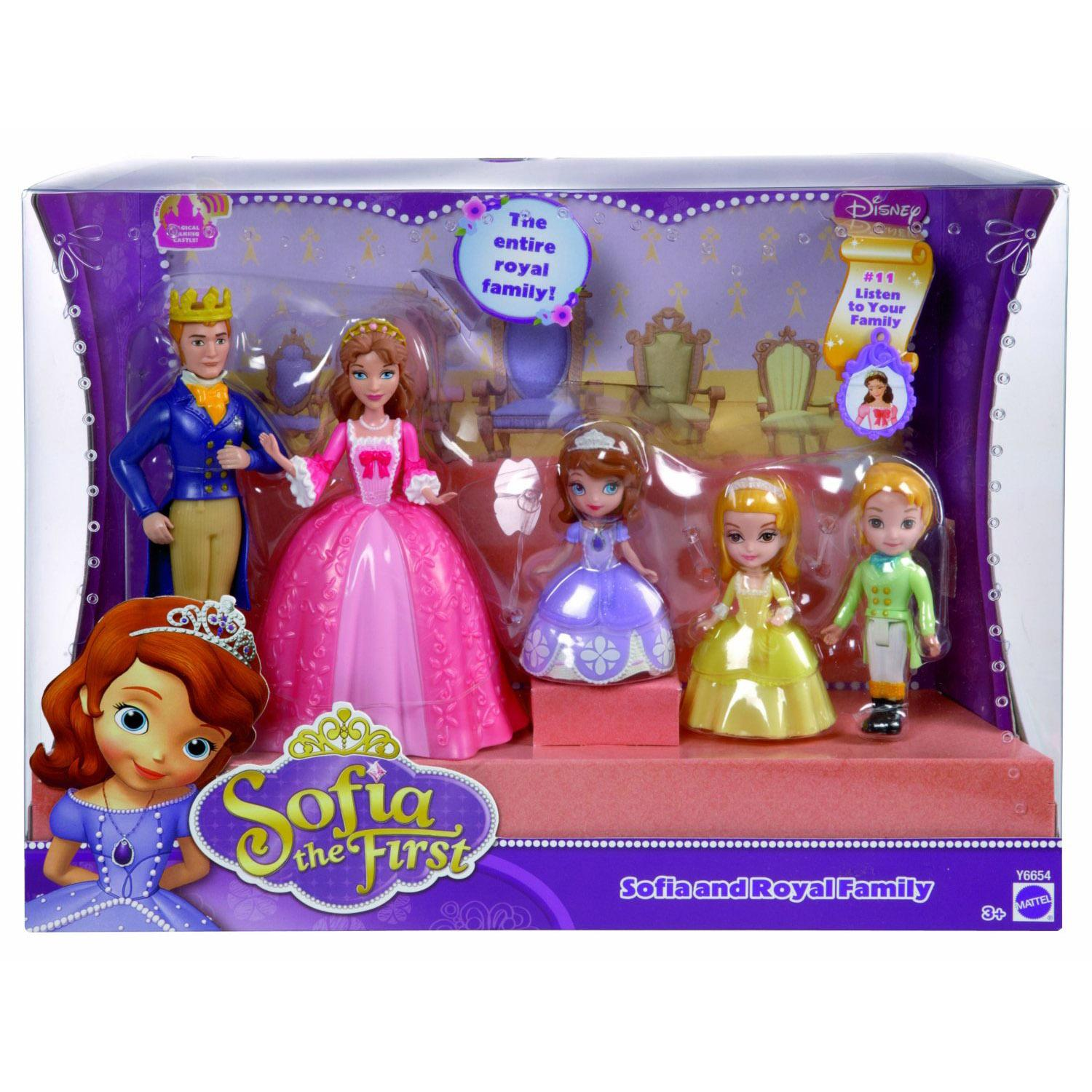 Sofia The First & Royal Family Doll Figure Play set