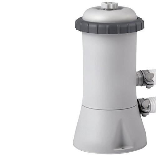 Intex filter pump 8 10 12 ft foot paddling swimming pool for Paddling pool filter