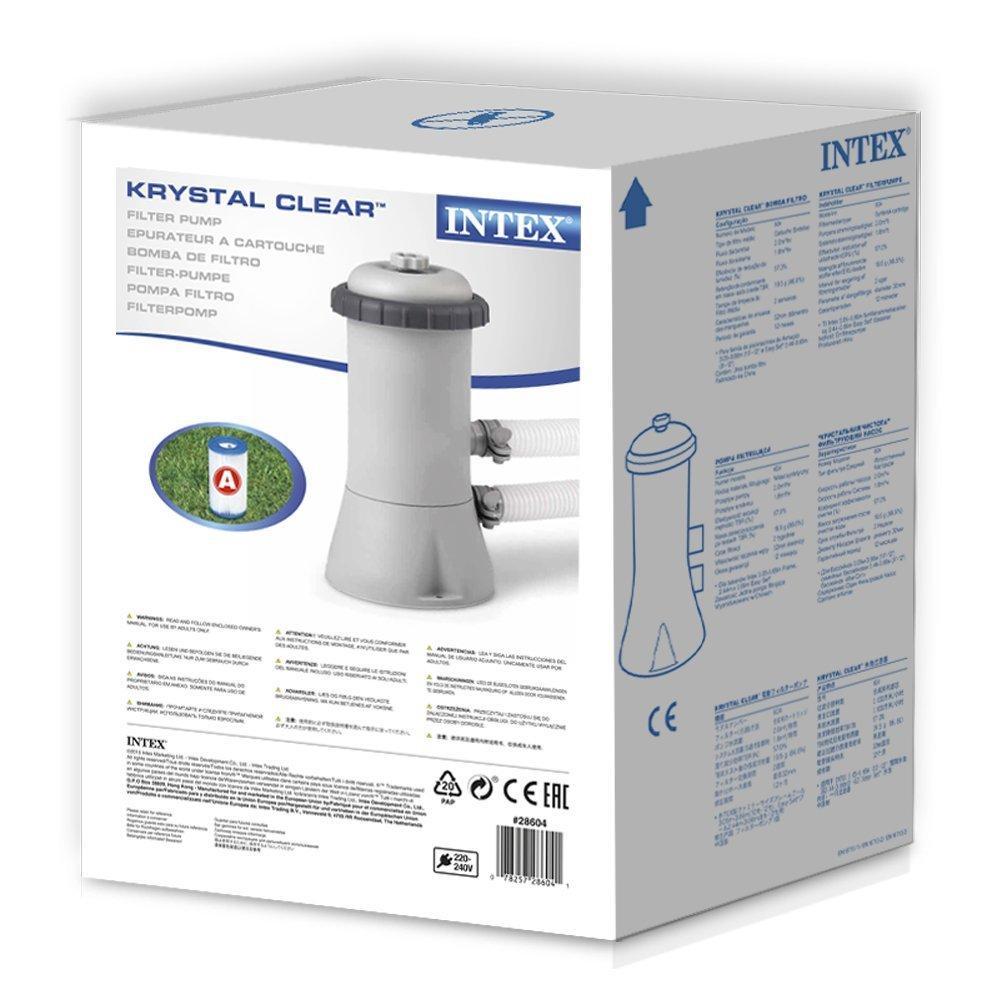 Intex Filter Pump 8 10 12 Ft Foot Paddling Swimming Pool Water Cleaner Ebay