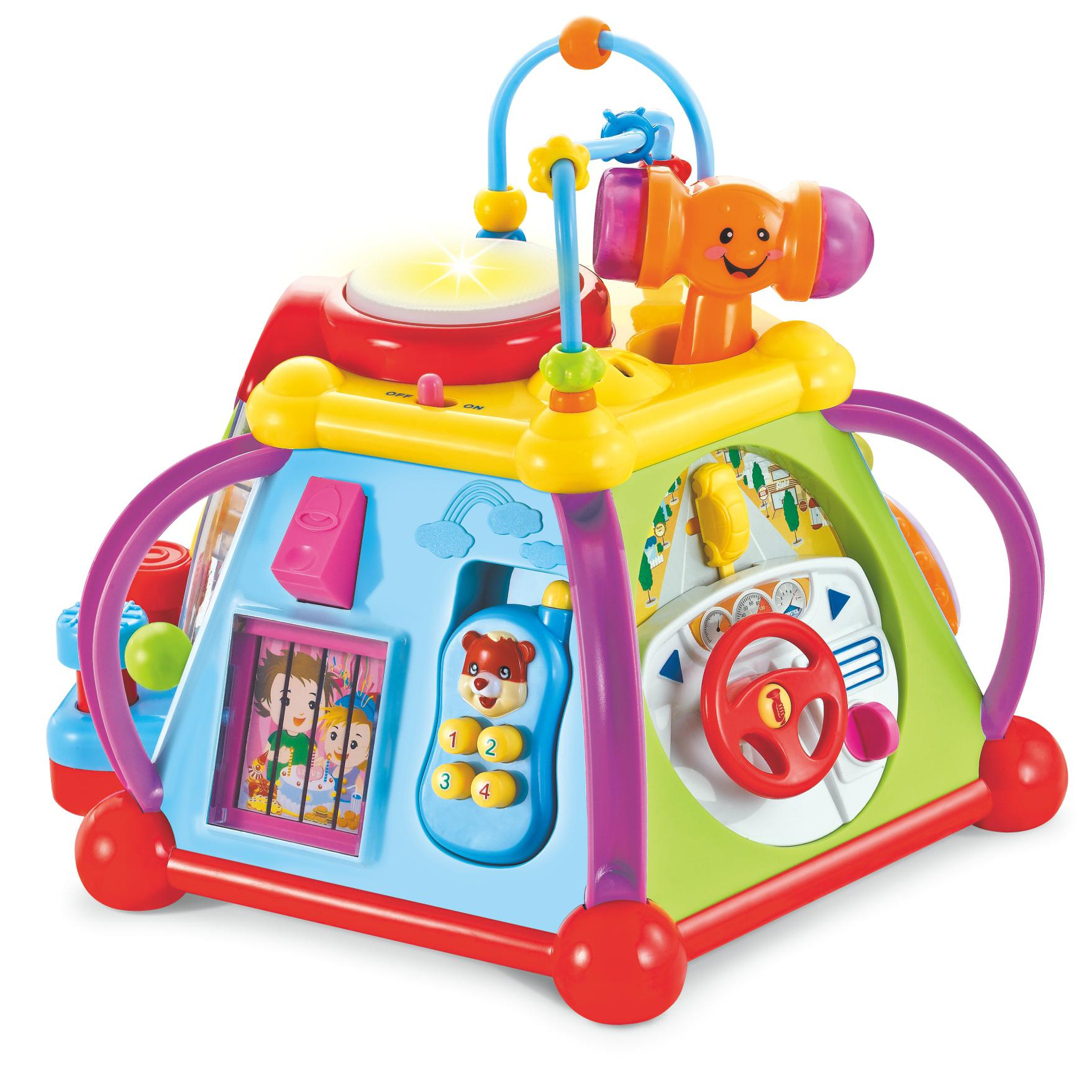 Tippi Musical Lights Multi Activity Centre Cube Baby Toddler