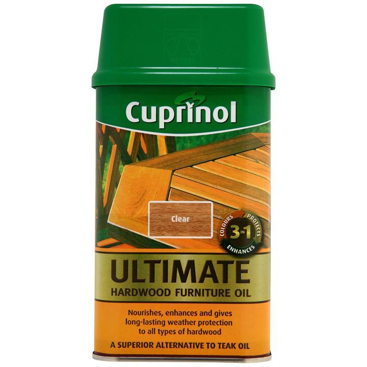 Cuprinol 3 In 1 Hardwood Wooden Outdoor Indoor Furniture 1L Better Than Teak