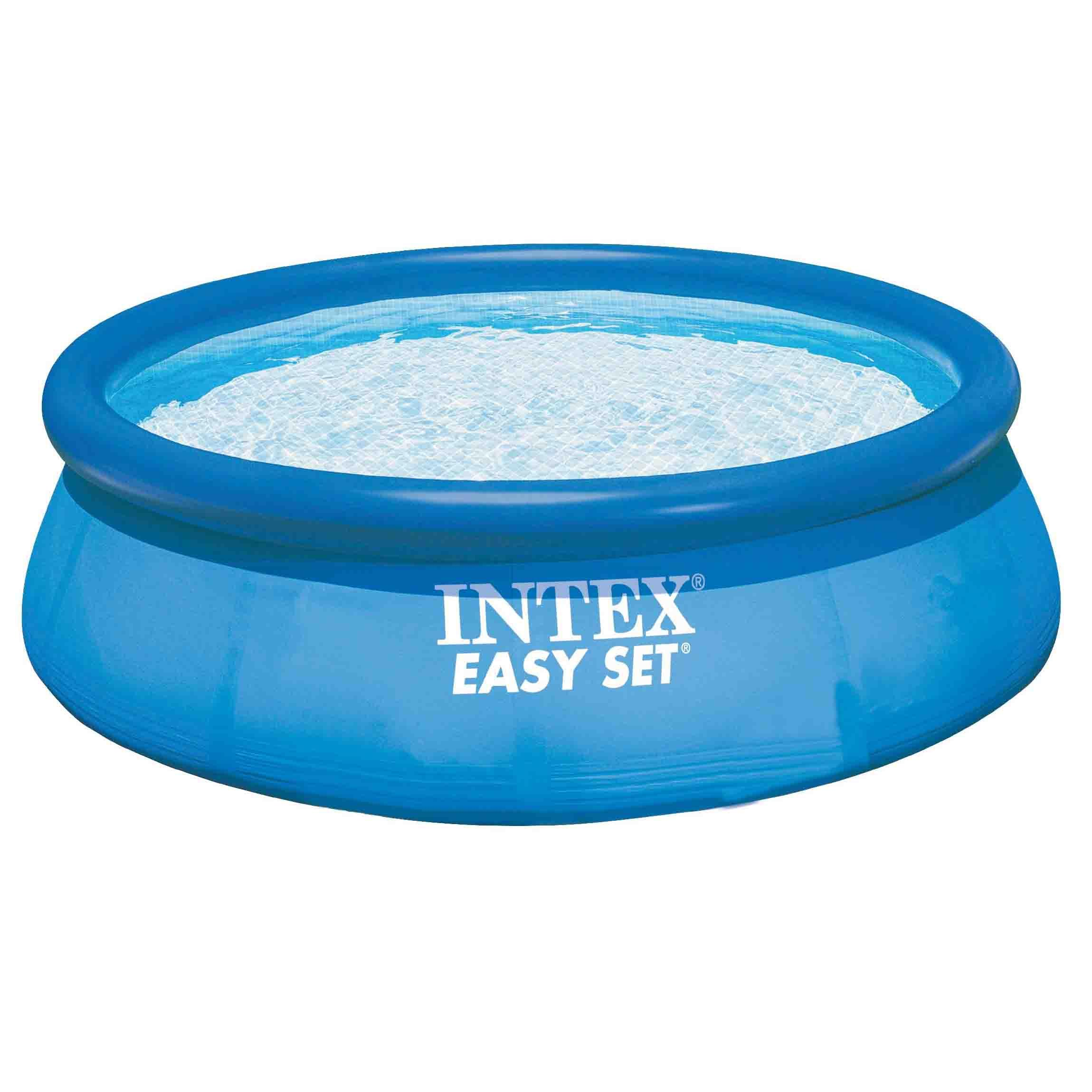 Intex 8 39 easy fast set swimming poolwholesale toys from for Obi fast set pool
