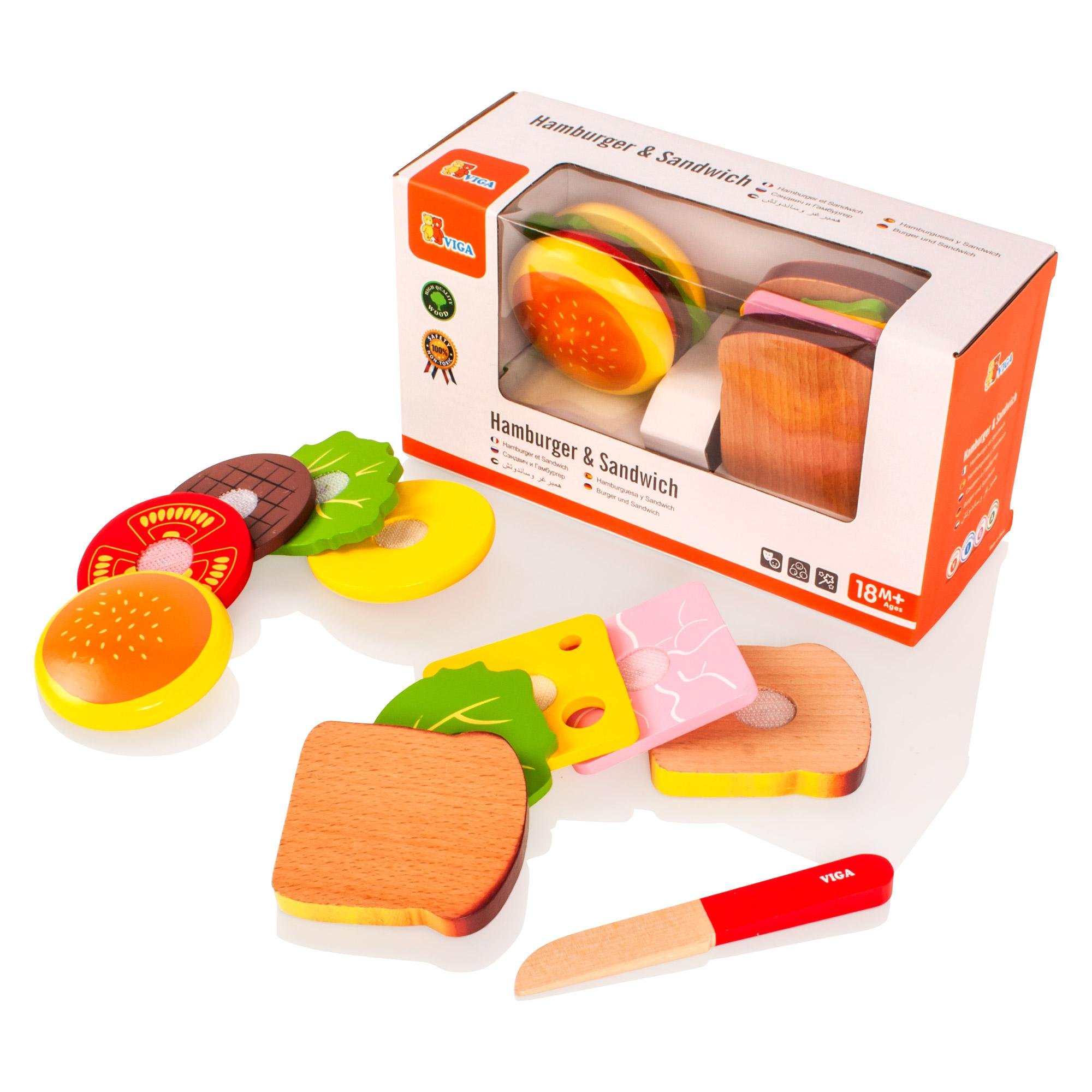 How To Make Wooden Play Food