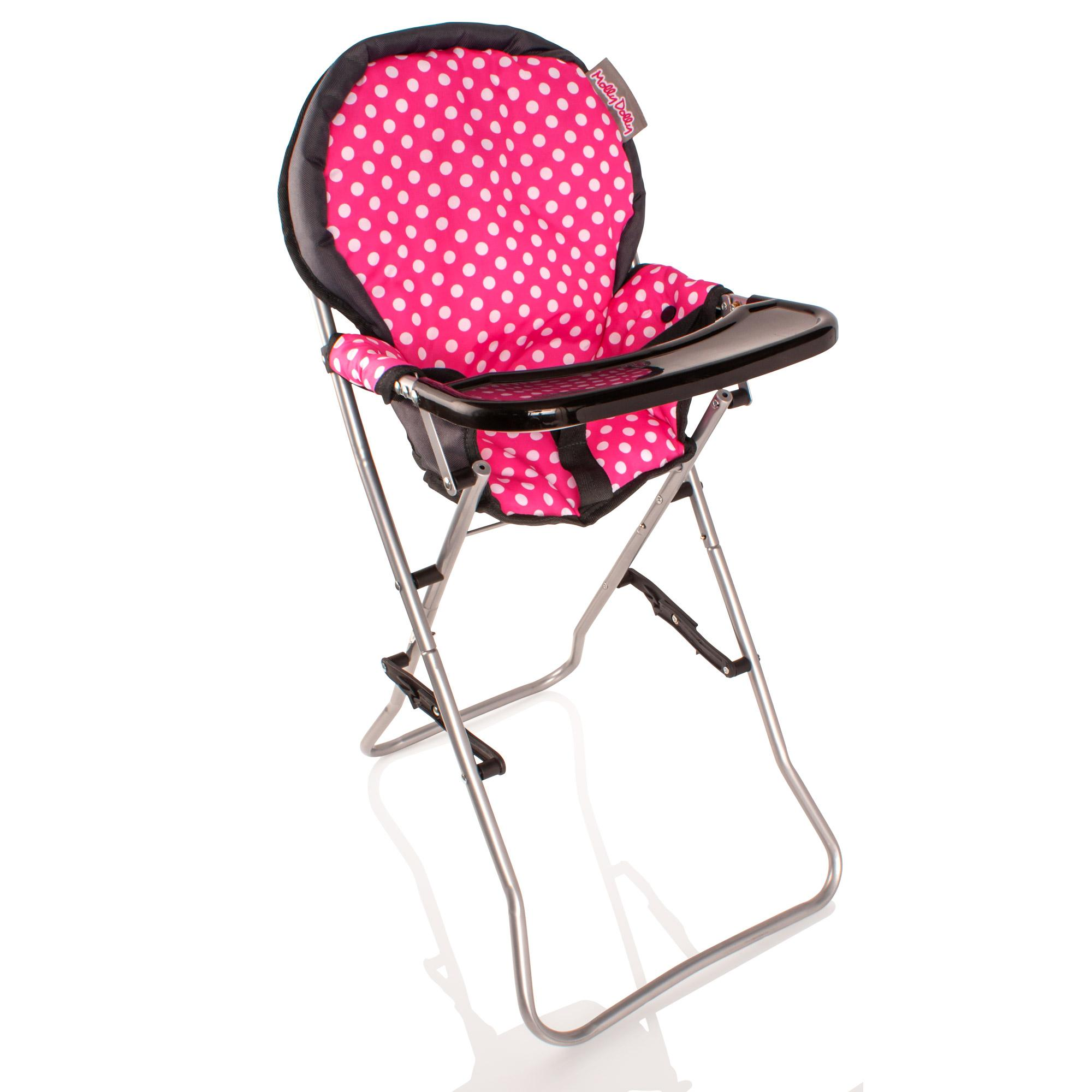 High Chair Toy Holder : Molly dolly deluxe cm dolls high chair feeding seat ebay