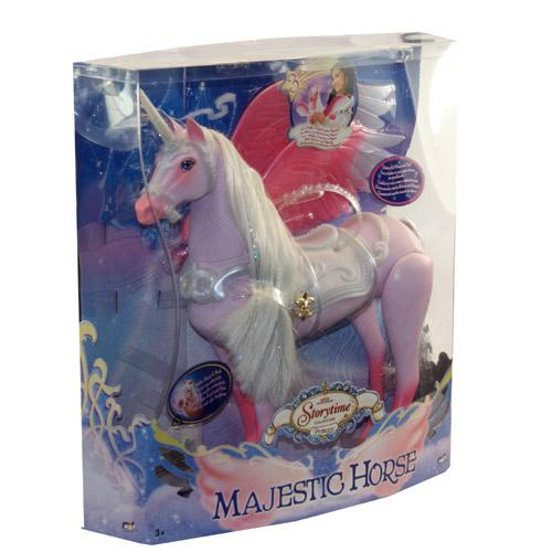 Unicorn Toys For Girls : Princess girls majestic toy horse unicorn with wings ebay
