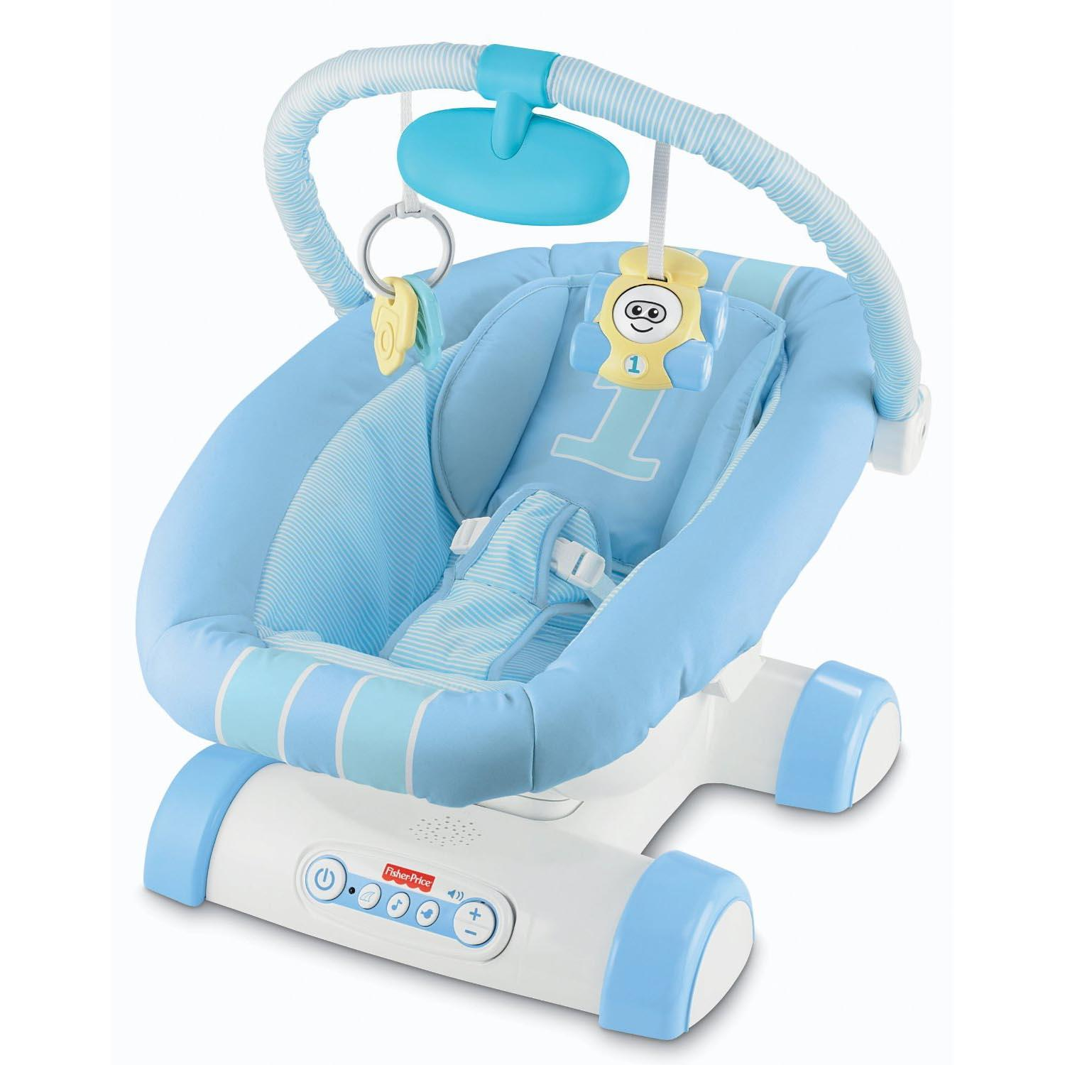 Fisherprice Precious Planet Blue Sky Baby High Chair. Great Get ...