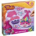 Totum Trolls Iron On Poppy & Cupcake