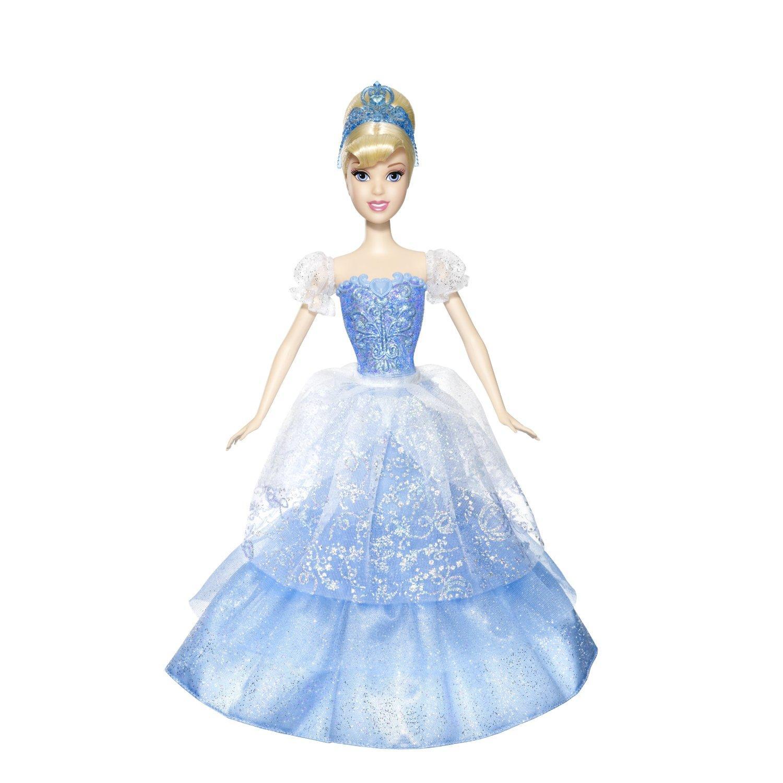 Disney Princess Royal Ball Cinderella Doll: New Disney Princess 2 In 1 Cinderella Ball-gown Ballroom