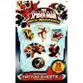 Spider-man Tattoo Sheets