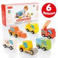 Milly & Ted Wooden Vehicles Set