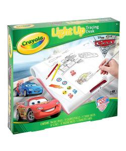 Crayola Cars 2 Light Up Tracing Desk Playsets Boys
