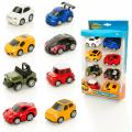 Wheelz Pull-Back Cars 8 Pack