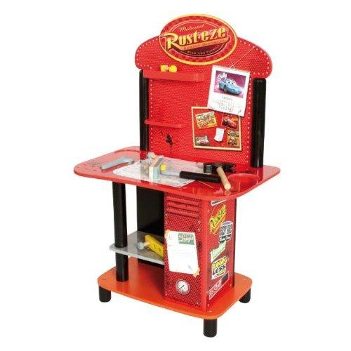 Disney Cars Childrens Wooden Tool Work Bench Tools Ebay
