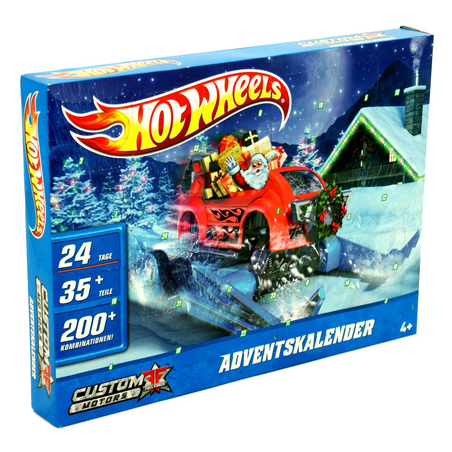 Details about Hot Wheels Christmas Xmas Childrens Kids Boys Toy Advent ...