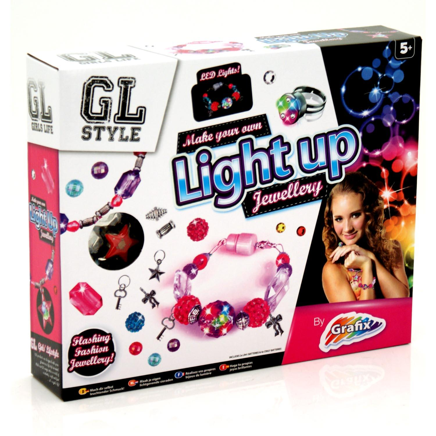 Design Make Your Own Jewellery: Create Your Own Light Up Jewellery Making Childrens/Kids