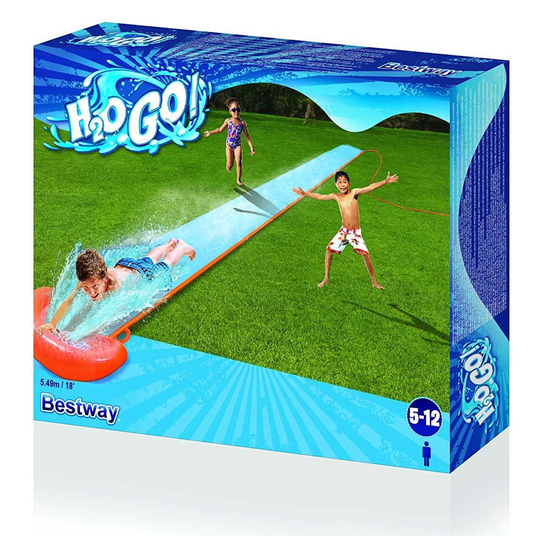 Bestway Water Slip 'n Slide Childrens/Kids Garden Spray ...