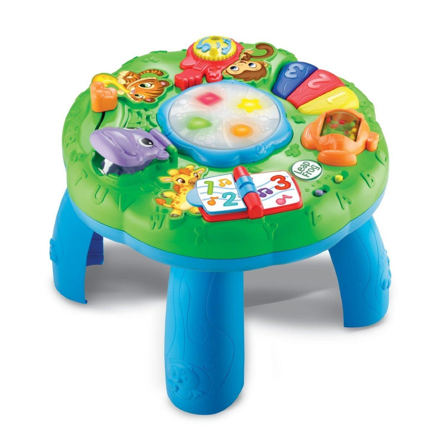 Baby Musical Toys : Leapfrog animal adventure learning activity table baby