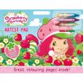 Strawberry Shortcake Artist Pad