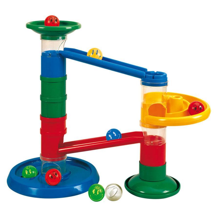 Ball Drop Toy : Rollipop baby toddler roller ball drop track marble run