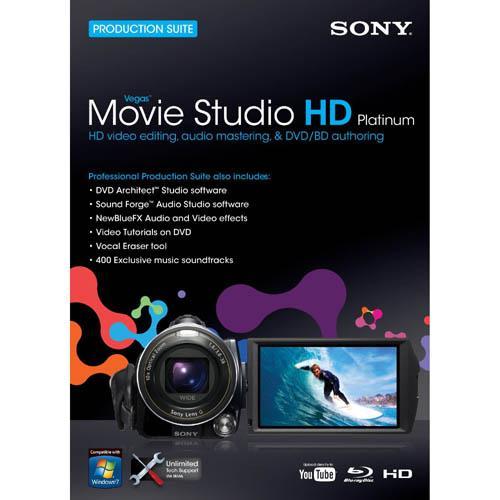 Sony Vegas Movie Studio HD Platinum Version 10