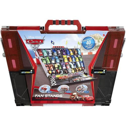 Exhibition Stand Carry Cases : Disney cars fan stands display storage carry case holder