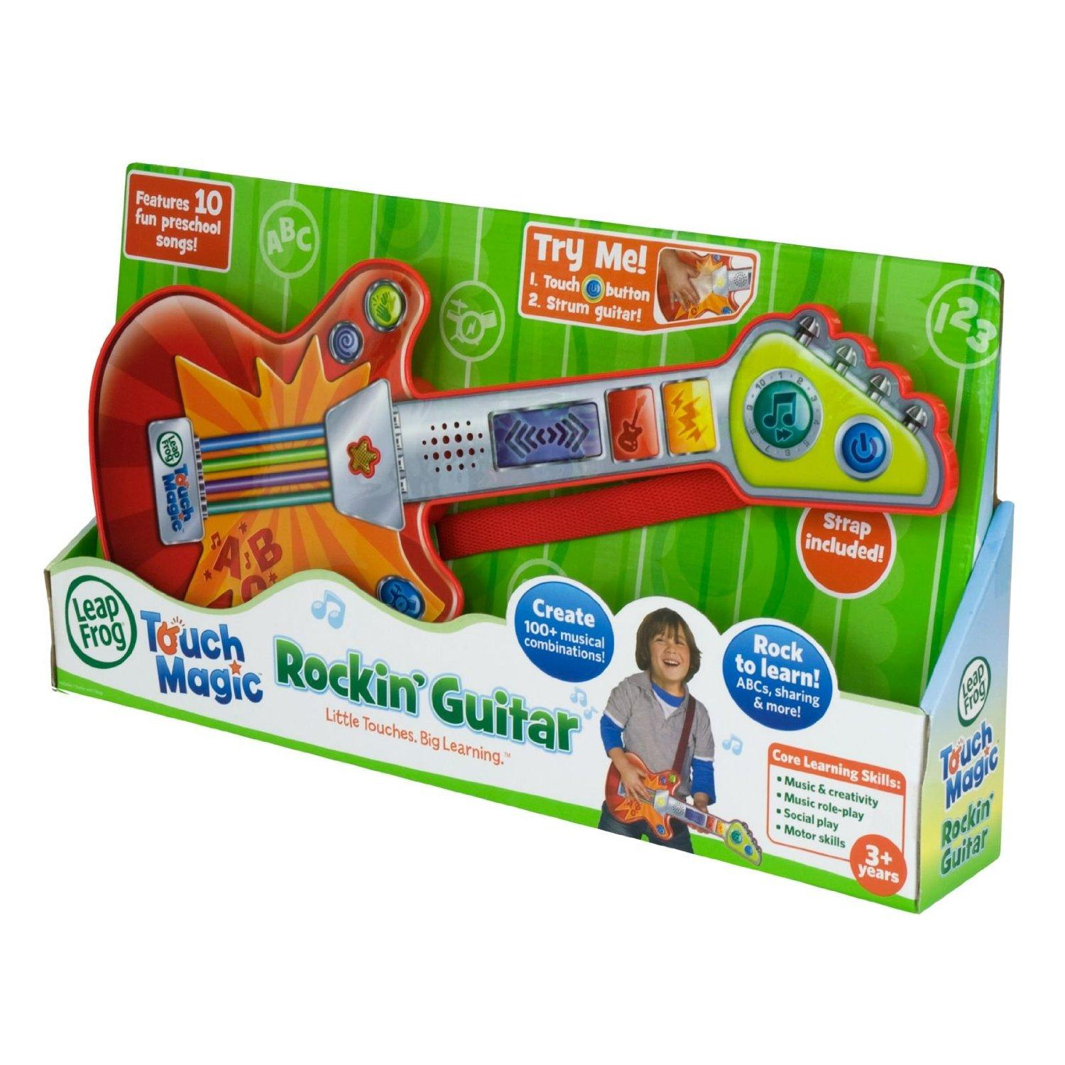 LeapFrog Touch Magic Rockin Guitar Childrens Kids Musical Music