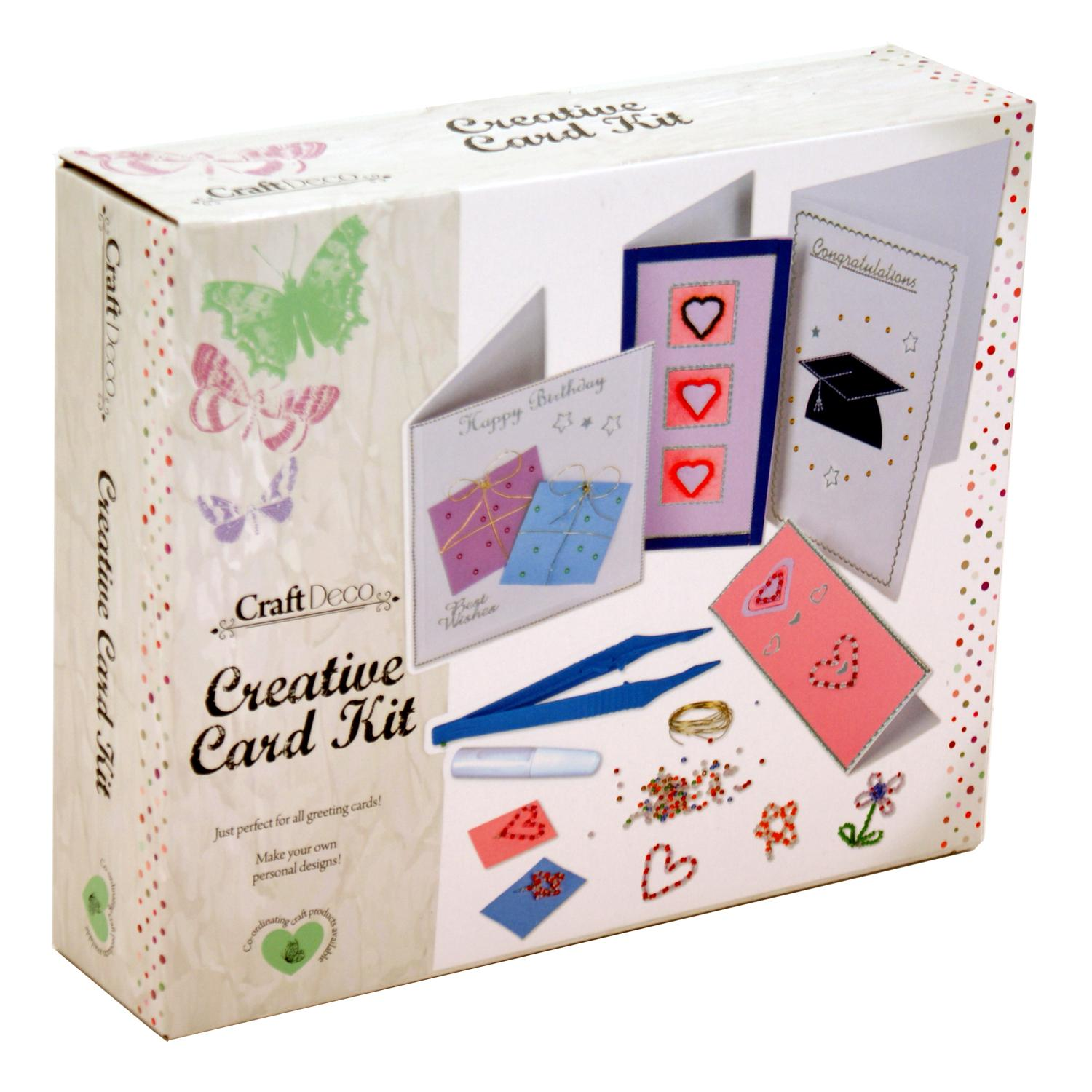 Make Your Own Greeting Cards Kit Card-Making Create