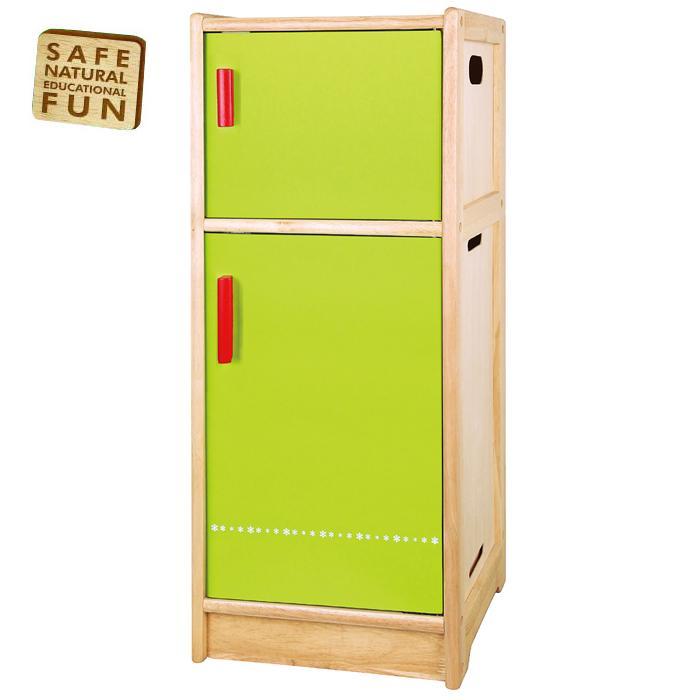 Dream Kitchen Toy Refrigerator: Wooden Fridge Refridgerator Childrens Kids Pretend Play-Kitchen Toy Play-Set