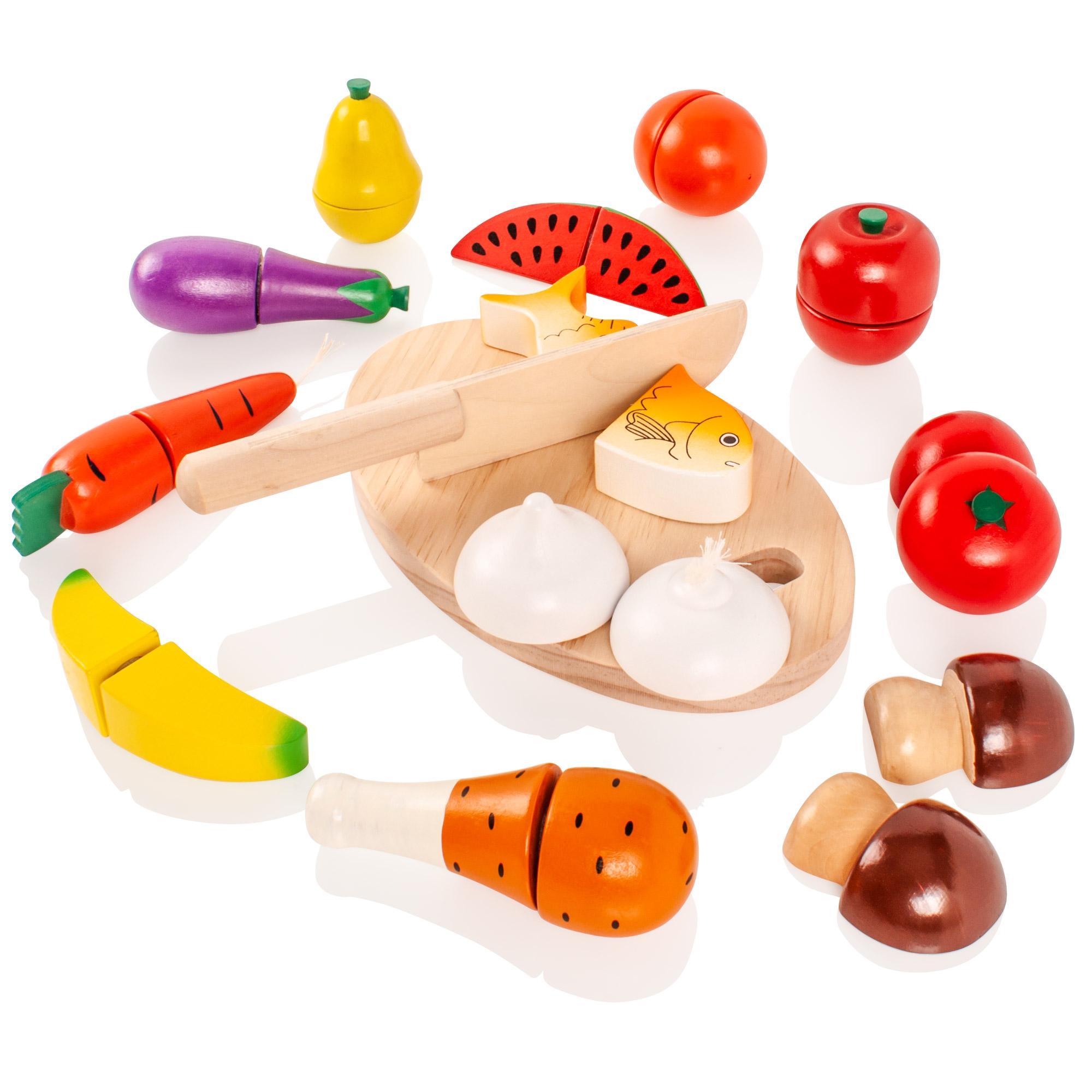 Toy Food Sets : Wooden toy food sets images