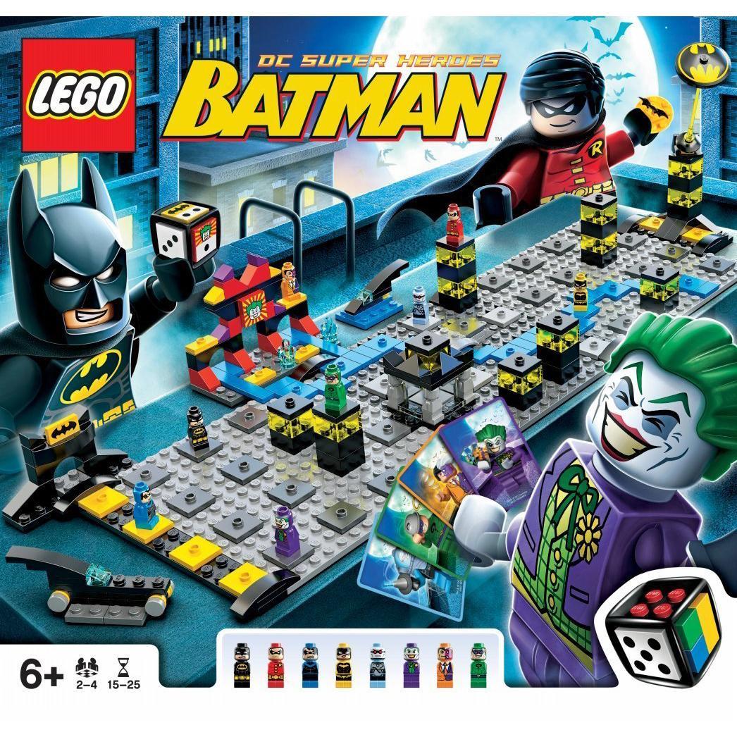 Lego Batman Board 50003 Board Game   eBay