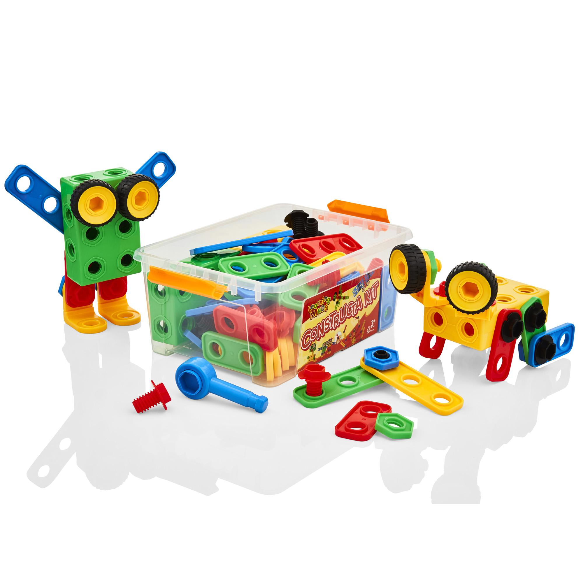 Toy Building Set For Boys : Learning minds model building tool kit childrens kids