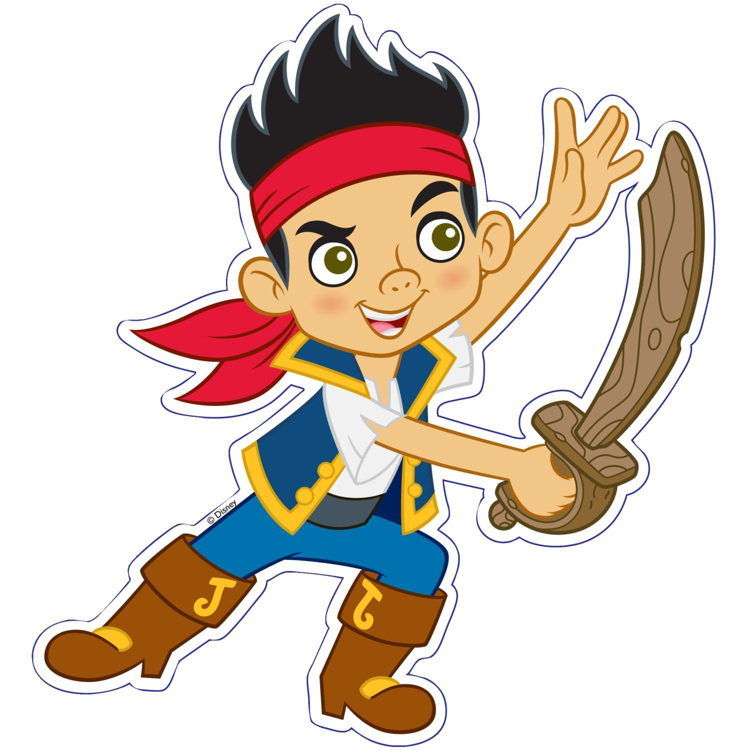 New Jake  The Neverland Pirates 4 in 1 Childrens Shaped Jigsaw