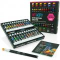 Artworx 24 Acrylic 12ml Paint Tube Set